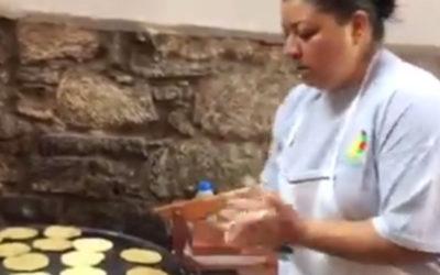 Making gorditas